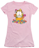 Juniors: Garfield - In the Garden T-Shirt