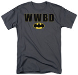 Batman - What Would Batman Do Logo T-Shirt