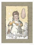 Chief Pot Washer Print by Julia Hawkins