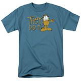 Garfield - They Did It T-shirts