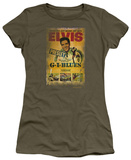 Juniors: Elvis - G.I. Blues Poster T-shirts