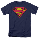 Superman - Distressed Shield Shirts