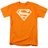 Superman - Orange & White Shield T-Shirt