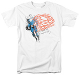 Superman - Super American Flag T-shirts