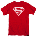 Superman - Red & White Shield T-Shirt