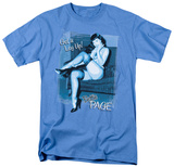Bettie Page - Get a Leg Up T-Shirt