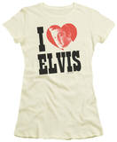 Juniors: Elvis - I Heart Elvis T-shirts