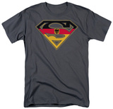Superman - German Shield T-Shirt