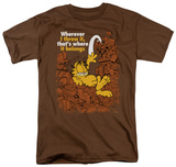 Garfield - Where It Belongs T-shirts