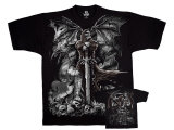 Fantasy - Gravestone Reaper T-shirts