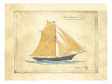 The Schooner Juliet Poster by Martin Wiscombe