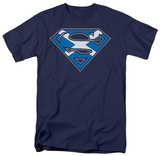 Superman - Scottish Shield T-shirts