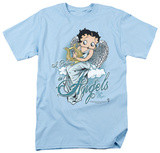 Betty Boop - I Believe in Angels T-shirts