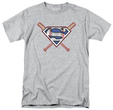 Superman - Crossed Bats T-Shirt