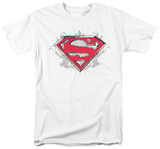 Superman - Hastily Drawn Shield T-shirts