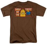 Garfield - Show Me the Coffee T-shirts