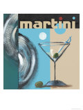 Martini Poster by Celeste Peters