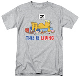 Garfield - This Is Living Shirts