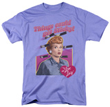 I Love Lucy - Things Could Get Sticky T-shirts