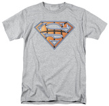 Superman - Basketball Shield T-Shirt