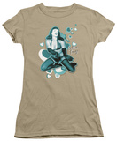 Juniors: Bettie Page - Come Back T-Shirt
