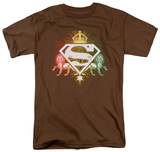 Superman - Ornate Lion Shield T-Shirt