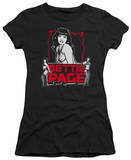Juniors: Bettie Page - Bettie's Scary Hot T-Shirt