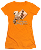 Juniors: Betty Boop - Dangerous Curves T-Shirt