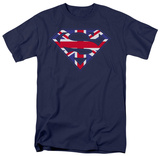 Superman - Great Britain Shield Shirts