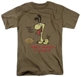 Garfield - Don't Worry, Be Stupid T-shirts
