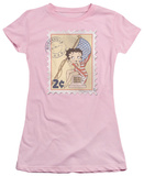 Juniors: Betty Boop - Vintage Stamp Shirts