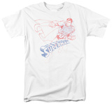 Superman - Sketch Superman T-Shirt
