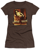 Juniors: Bettie Page - Over-Exposed T-Shirt
