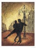 Tango Romance Print by Tina Chaden