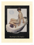 La Perle dans l'huître Affiche