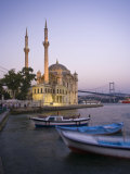 Ortakoy Camii and the Bosphorus Bridge, Istanbul, Turkey Photographic Print by Michele Falzone