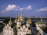 Dormition Cathedral, Kyiv-Pechersk Lavra monastery, Kiev, Ukraine Photographic Print by Jon Arnold