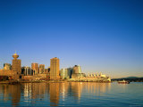 City Skyline and Waterfront, Vancouver, British Columbia, Canada Photographic Print by Steve Vidler