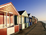 Beach Huts, Southwold, Suffolk, England Photographic Print by Steve Vidler