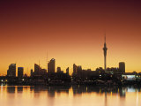 Skyline of Auckland, North Island, New Zealand Photographic Print by Doug Pearson