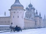 Rostov Kremlin, Rostov, Yaroslavl Region, Golden Ring, Russia Fotografie-Druck von Ivan Vdovin