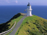Cape Reinga Lighthouse, North Island, New Zealand Photographic Print by Doug Pearson