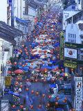 Asia, Malaysia, Kuala Lumper, Night Market in Chinatown Photographic Print by Gavin Hellier