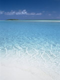 Aitutaki Lagoon, Aitutaki, Polynesia, South Pacific, Cook Islands Photographie par Steve Vidler
