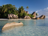 Anse Source d&#39;Argent Beach, La Digue Island, Seychelles Photographie par Michele Falzone