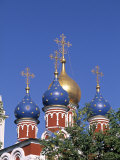 Russian Orthodox Church, Moscow, Russia Photographic Print by Jon Arnold