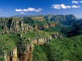 Drakensberg Mountains, Blyde River Canyon, Natal, South Africa Fotografisk tryk af Steve Vidler
