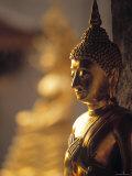 Wat Phra Doi Suthep, Doi Suthep, Thailand Photographic Print by Walter Bibikow