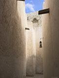 Narrow Lane in the Old District of the Bastakiya, Dubai, United Arab Emirates, United Arab Emirates, Middle East, Photographic Print