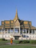 Royal Palace, Chan Chaya Pavilion , Phnom Penh, Cambodia Photographic Print by Steve Vidler